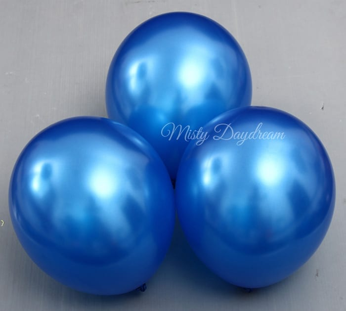 Uninflated Value Pack Pearlized Metallic Latex Balloon