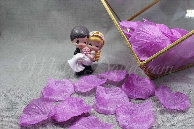 Fp012 purple flower petals 100pc misty daydream mightylinksfo