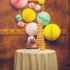 honeycomb-pom-pom-wedding-decor