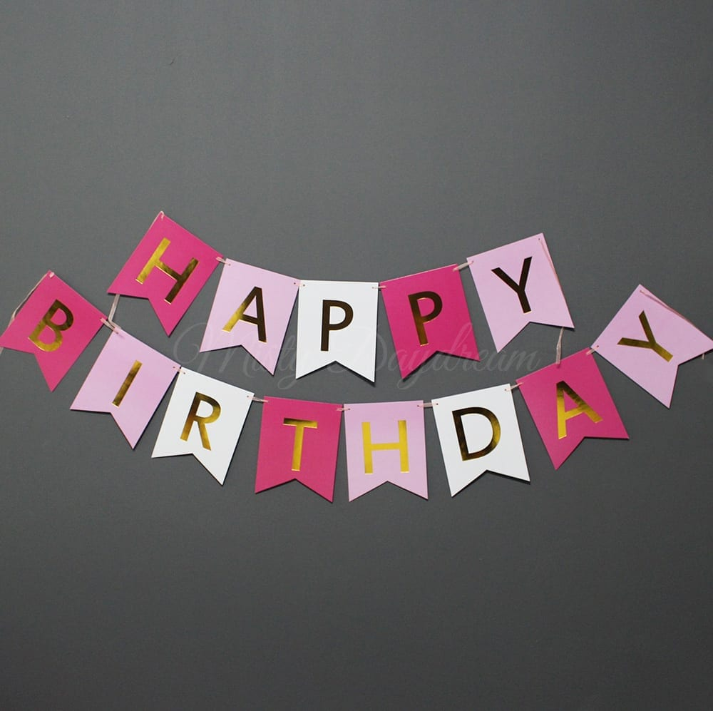 happy birthday lettering gold foiled happy birthday lettering on tri color cards 141