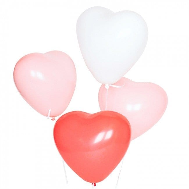 ee4bad4ac9f Uninflated Value Pack - Heart Latex Balloons - Misty Daydream