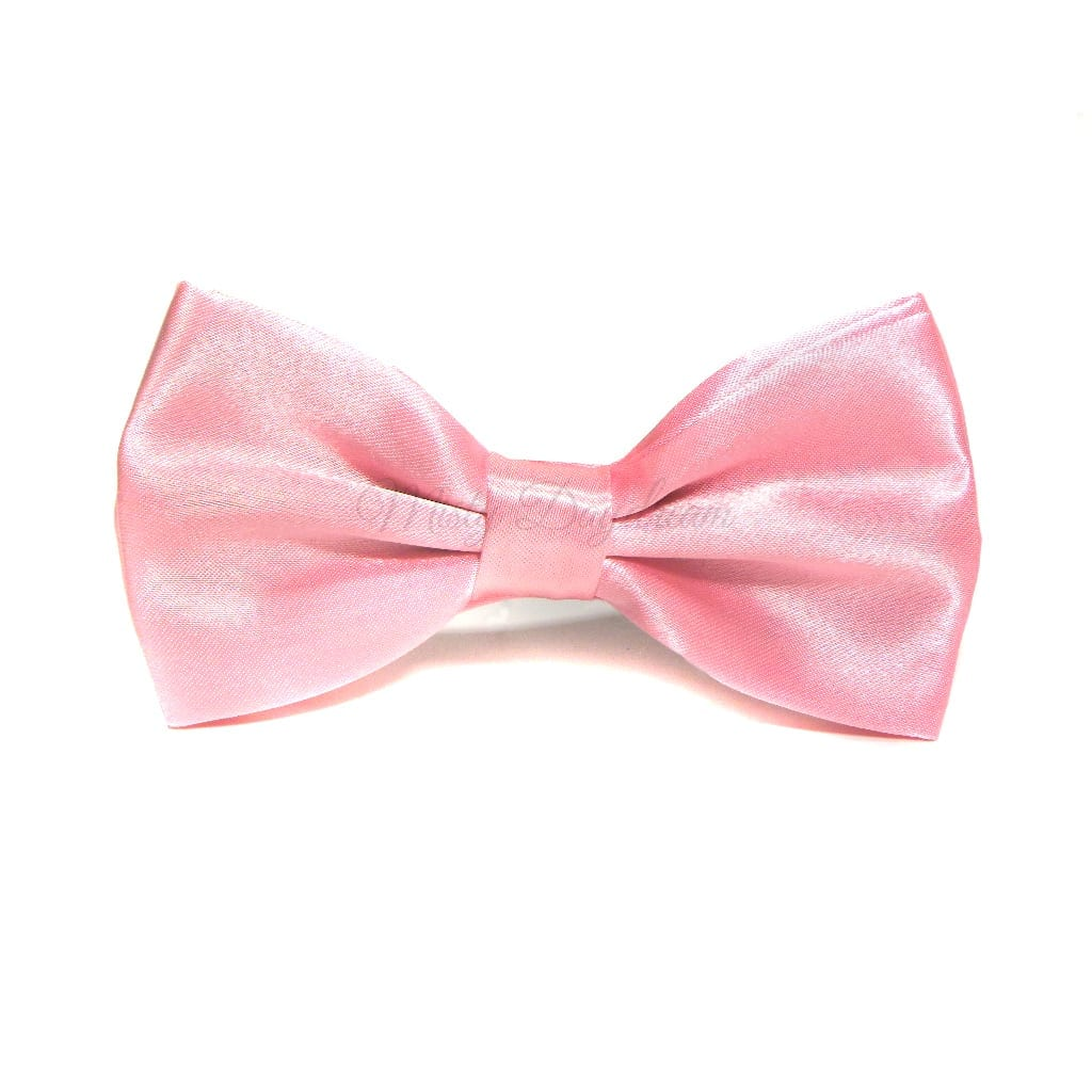 adult bow tie baby pink misty daydream