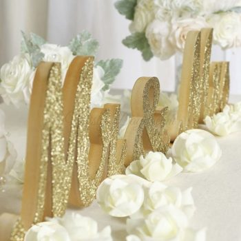 Chair signs singapore misty daydream mr mrs large wooden script font sign table decor gold glitters junglespirit Images