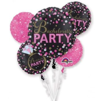 bachelorette party foil balloons
