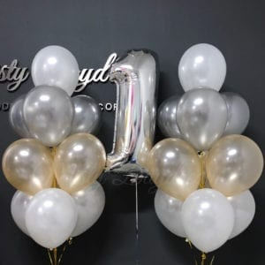 Helium balloons bouquet
