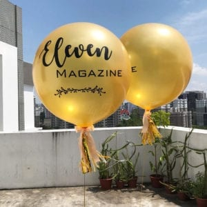 36 inch personalized helium balloons