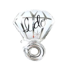 Silver-I-Do-Diamond-Ring