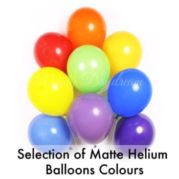 fashion helium balloons