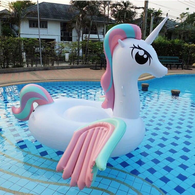Inflatable Pool Float Looney Unicorn Float Misty