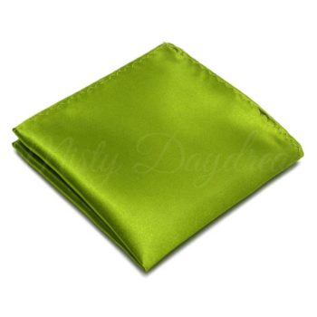 Army Green Pocket Square
