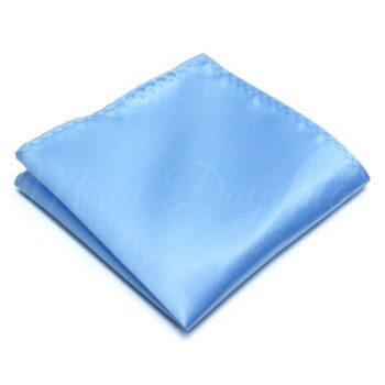 Baby Blue Pocket Square