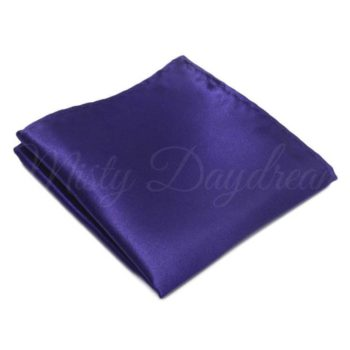 Dark Purple Pocket Square