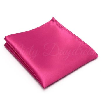 Hot Pink Pocket Square