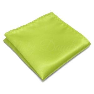Lemon Green Pocket Square
