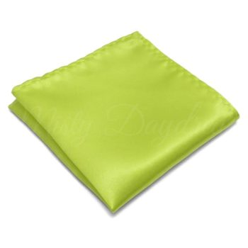 Lemon Green Pocket Square
