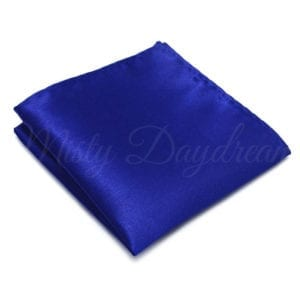 Royal Blue Pocket Square