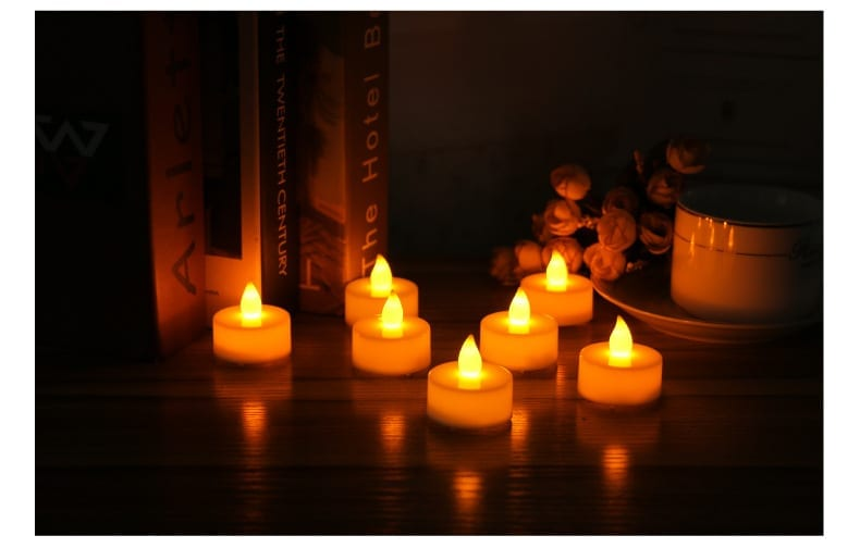 24pc LED Candle Tealight Set
