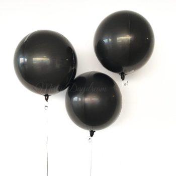 Black Orbz balloons