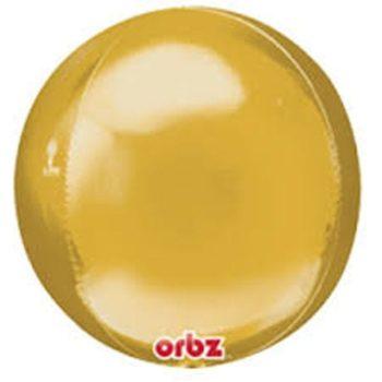Orbz Balloons - Gold