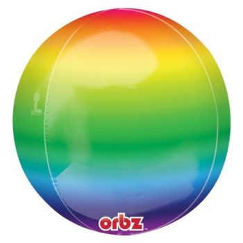 Orbz Balloons - Rainbow
