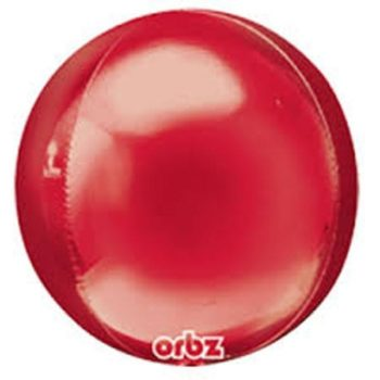 Orbz Balloons - Red