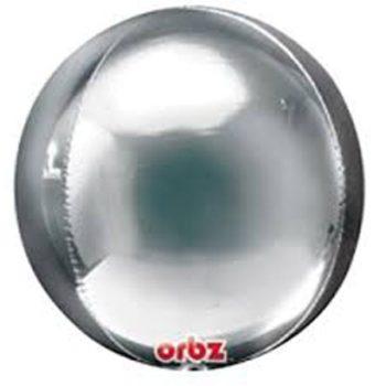 Orbz Balloons - Silver