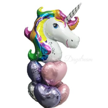Personalized Unicorn Balloons