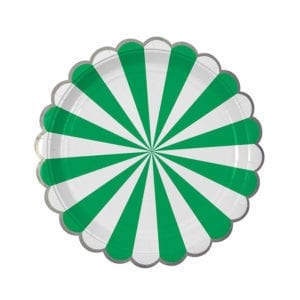 toot sweet strip plates green