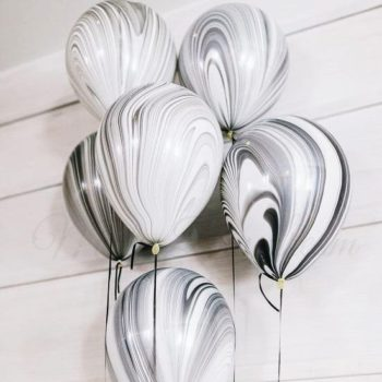 Classic Marble Balloons