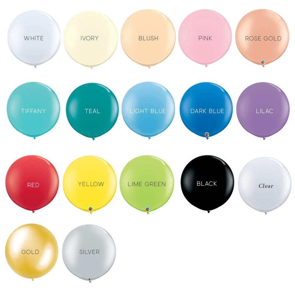 36 inch jumbo helium balloons