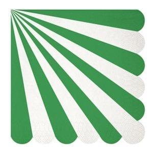 toot_sweet_green_stripe_napkin_bonjour_fete