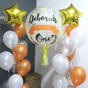 Ice cream 36inch confetti balloons