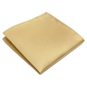 Light Champagne pocket square