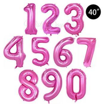 40 inch letter foil balloons