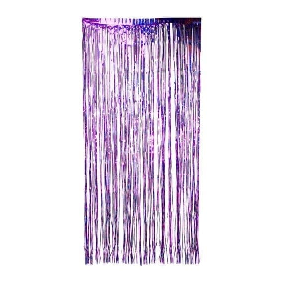 Shimmer Holographic Tinsel Curtain Backdrops 200cm X 100cm