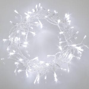 LED String Battery Cold White