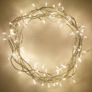 LED String Fairy Lights – Warm White (9 Battery operated)