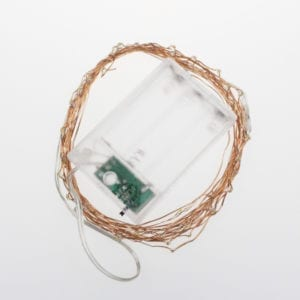 LED Copper Wire Battery Cold White