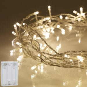 LED String Battery Warm White