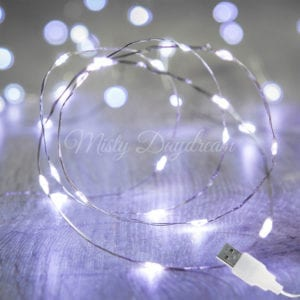 LED Silver Wire USB Cold White