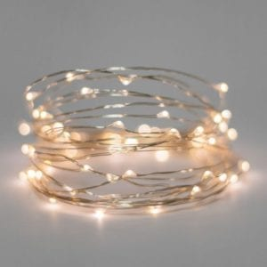LED Silver Wire USB Warm White