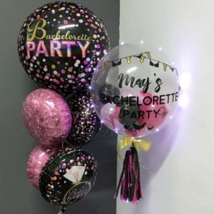 Hen party personalized balloons
