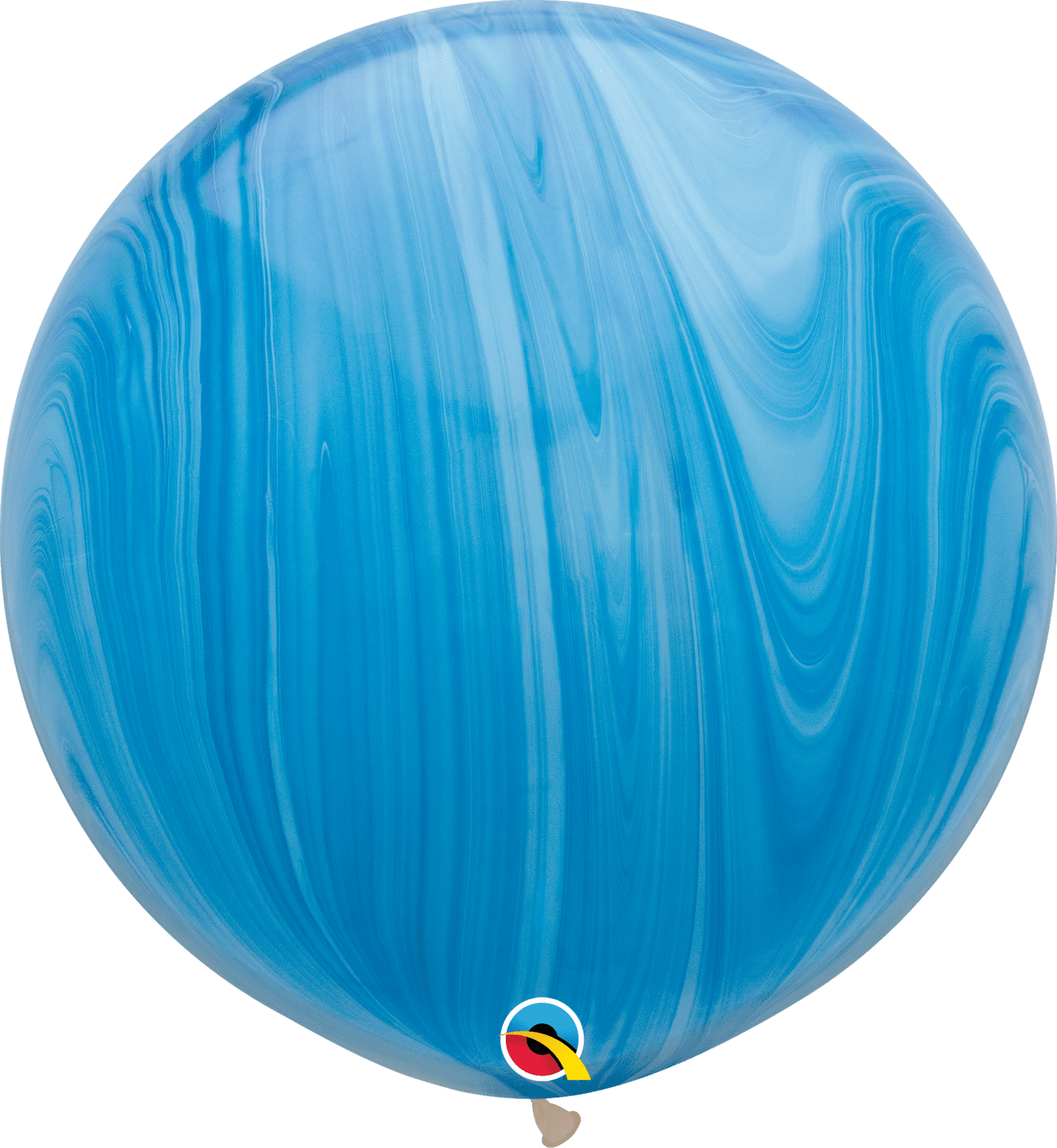Baby Blue Marble : Helium inflated balloons inch blue marble latex