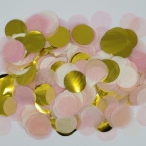 Blush Gold Confetti