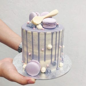 Dripping Ombre Cake