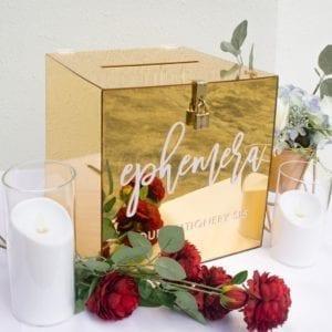 Mirror Gold Wishing Well / AngBao Box