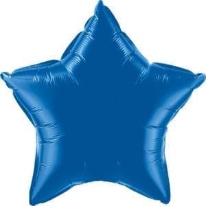 Dark Blue Foil Balloons