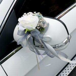 Wedding Car Ribbon – Grey