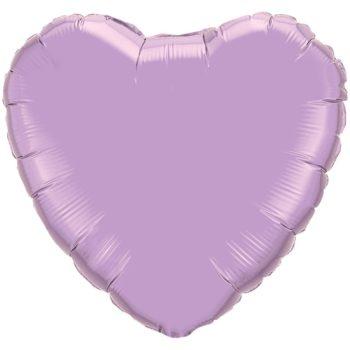 Light Purple Heart Foil balloons