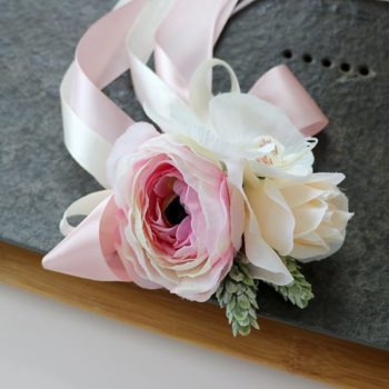 Wedding Car Ribbon - Pink